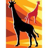Kit di tela per bambini - Luc Créations - Giraffe