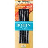 Aghi da cucire - Bohin - Aghi speciali per cucire a mano speciali boutis n°26
