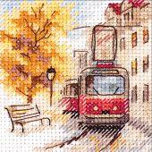 Kit Punto Croce - Alisa - Il tramway