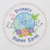 Kit di ricamo per bambini - Anchor - Proteggere il pianeta