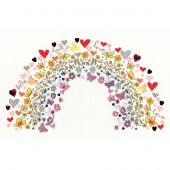 Kit Punto Croce - Bothy Threads - Arcobaleno d'Amore