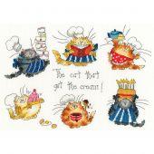 Kit Punto Croce - Bothy Threads - Gatti in cucina