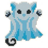 Supporto magnete ricamo diamante - Collection d'Art - Gatto fantasma