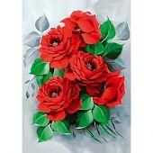 Kit ricamo diamante - Collection d'Art - Rose eleganti