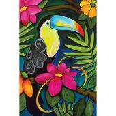 Kit ricamo diamante - Collection d'Art - Tucano tropicale