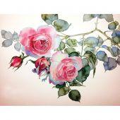 Kit ricamo diamante - Collection d'Art - Ramo di rose