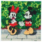 Kit ricamo diamante su telaio - Crystal Art D.I.Y - Minnie e Mickey