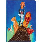 Taccuino da ricamo a diamante - Crystal Art D.I.Y - Simba