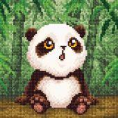 Kit ricamo diamante - RTO - Bambino panda