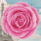 Kit ricamo diamante - Diamond Art - rosa