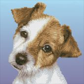 Kit ricamo diamante - Diamond Art - Cucciolo