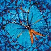 Kit ricamo diamante - Diamond Dotz - Farfalla blu