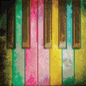 Kit ricamo diamante - Diamond Dotz - Pianoforte arcobaleno