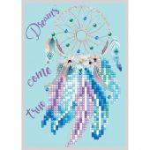 Carta con ricamo a diamante - Diamond Dotz - I sogni diventano realtà
