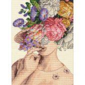 Kit Punto Croce - Dimensions - Signora del giardino