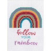 Kit Punto Croce - Dimensions - Segui il tuo arcobaleno