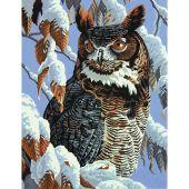 Kit di pittura per numero - Dimensions - Osservazione invernale