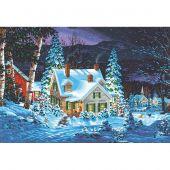 Kit di pittura per numero - Dimensions - Silenzio invernale