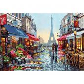 Kit di pittura per numero - Dimensions - Negozio di fiori a Parigi