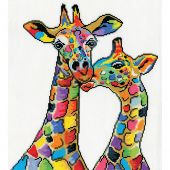 Kit Punto Croce - Design works - Giraffe