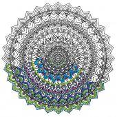 Tela predisegnata - Zenbroidery - Mandala