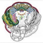 Tela predisegnata - Zenbroidery - Elefante