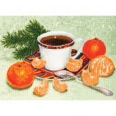 Kit Punto Croce - Toison d'or - Colazione di Capodanno