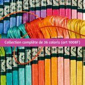 Filo per ricamo - DMC - Collezione completa Mouliné satin - Art 1008F