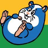 Kit di tela per bambini - Luc Créations - Hamster
