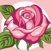 Kit di tela per bambini - Luc Créations - rosa