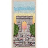 Kit Punto Croce - Le Bonheur des Dames - arco di trionfo