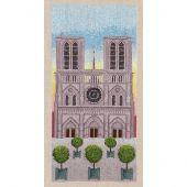 Kit Punto Croce - Le Bonheur des Dames - La nostra signora di Parigi