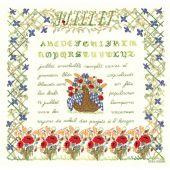 Kit Punto Croce - Le Bonheur des Dames - Luglio