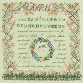 Kit Punto Croce - Le Bonheur des Dames - Aprile