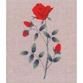 Kit di punti da ricamo - Le Bonheur des Dames - Rosa Rosso