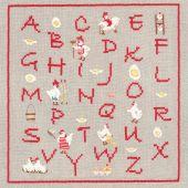 Kit Punto Croce - Le Bonheur des Dames - ABC Cocottes