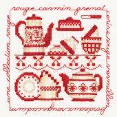 Kit Punto Croce - Le Bonheur des Dames - Collezione rouge