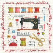 Kit Punto Croce - Le Bonheur des Dames - piccolo laboratorio