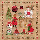 Kit Punto Croce - Le Bonheur des Dames - Accessori natalizi