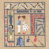 Kit Punto Croce - Le Bonheur des Dames - Benvenuti - luglio