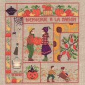 Kit Punto Croce - Le Bonheur des Dames - Benvenuti - ottobre