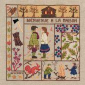 Kit Punto Croce - Le Bonheur des Dames - Benvenuti - Novembre