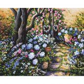 Kit Punto Croce - Letistitch - meraviglioso giardino