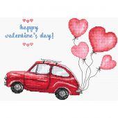 Kit Punto Croce - Letistitch - Buon San Valentino