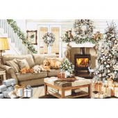 Kit Punto Croce - Luca-S - Sognando un bianco Natale