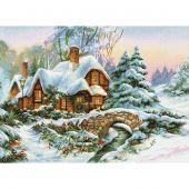 Kit Punto Croce - Luca-S - Paesaggio d'inverno