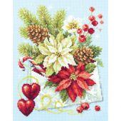 Kit Punto Croce - Magic Needle - Buon Natale