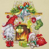 Kit Punto Croce - Magic Needle - Aspettando Natale