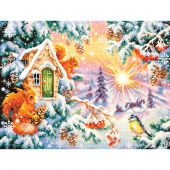 Kit Punto Croce - Magic Needle - Mattino d'inverno