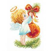 Kit Punto Croce - Magic Needle - Angelo di Natale